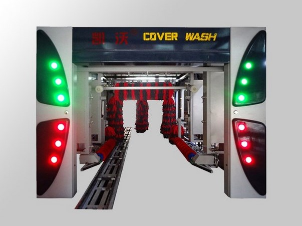 New type 13-brush tunnel car wash machine